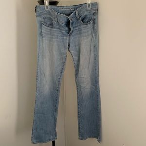 American Eagle size 10 long slim boot jeans